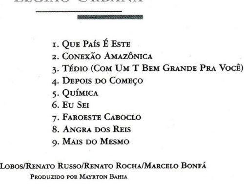 Letra: Faroeste Caboclo – Legião Urbana